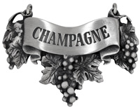 Champagne Liquor Label