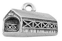 Covered Bridge Charm