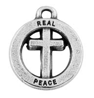 Real Peace Charm