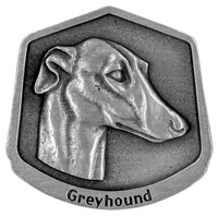 Greyhound Dog Key Chain