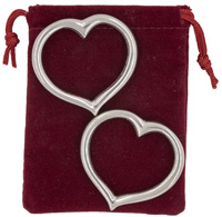 Heart Shaped Napkin Rings
