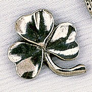 Shamrock Hat Bag Lapel Pin