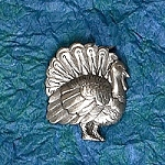 Turkey Hat Bag Lapel Pin