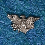 Eagle Hat Lapel Pin