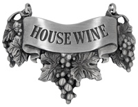 House wine Liquor Label