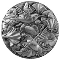 Hummingbird Purse Mirror