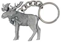 Moose Key Chain
