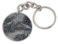 New Hampshire Key Chain/Ring