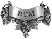 Rum Liquor Label