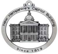 New Hampshire State Capitol Building Ornament