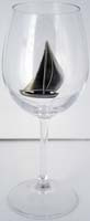 Wine Glass Sailboat Bowl