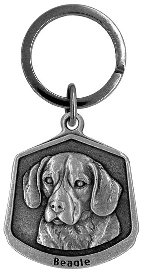 Beagle Keychain - Front