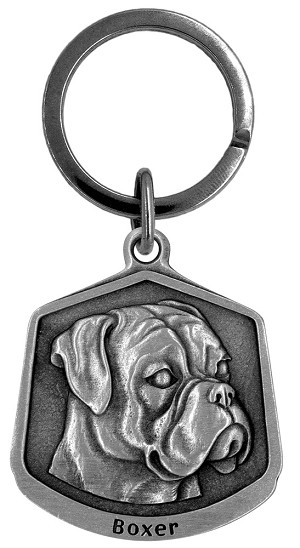 Boxer Keychain - Front