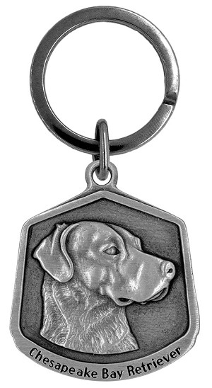 Chesapeake Bay retriever Keychain - Front