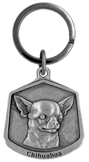 Chihuahua Keychain - Front