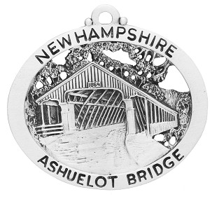 Ashuelot Covered Bridge Ornament