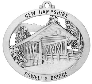 Rowells Covered Bridge Ornament