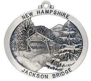 Jackson Covered Bridge Ornament