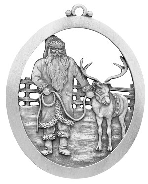 Reindeer Training Ornament