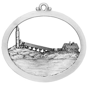 White Island Lighthouse Ornament