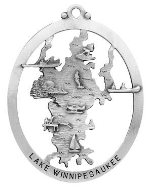 Lake Winnipesaukee Ornament