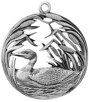 Loon Along The Shore Ornament