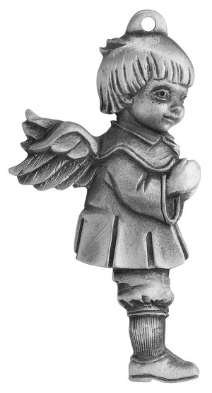 Little Boy Angel Ornament
