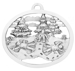 Snow Angels Ornament