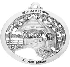 Flume Covered Bridge Ornament