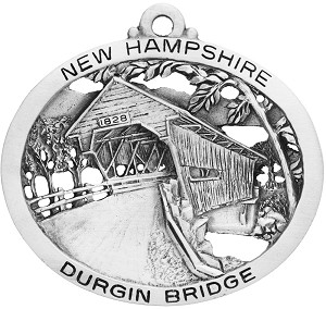 Durgin Covered Bridge Ornament