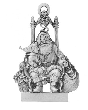 Visit With Santa Ornament