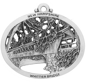 Whittier Covered Bridge Ornament
