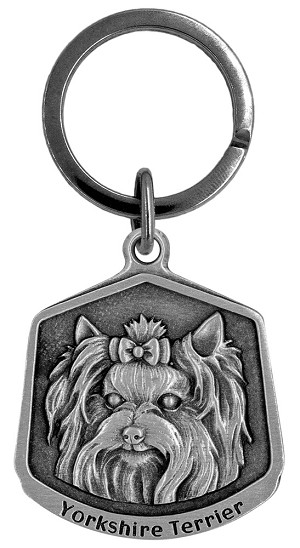 Yorkshire terrier Keychain - Front