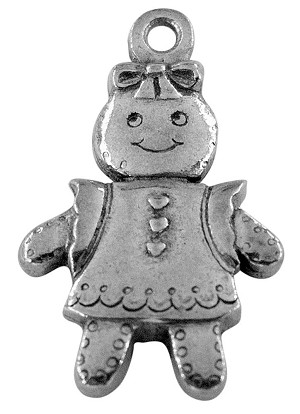 Gingerbread Girl Charm