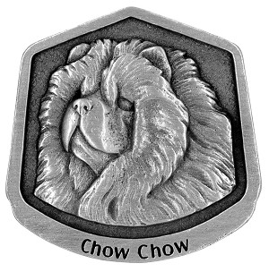 Chow-Chow magnet - Front