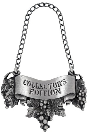 Collector's edition Liquor Label with Chain