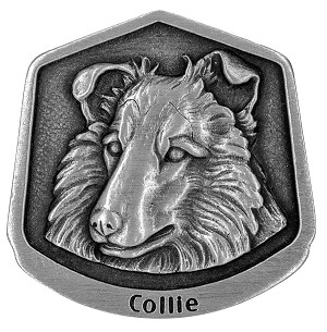 Collie magnet - Front