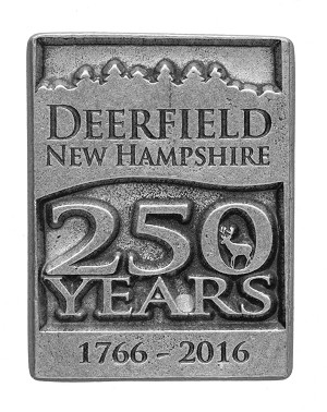 Town of Deerfield - 250th Anniversary Refrigerator Magnet