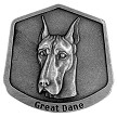 Great Dane magnet - Front