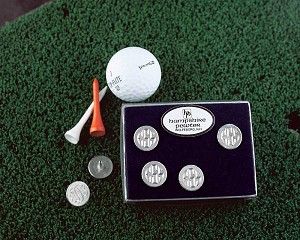 Set Includes 6 Ball Markers