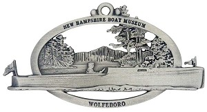 New Hampshire Boat Museum Ornament