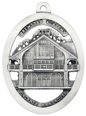 Brewster Academy Pickney Boathouse Ornament