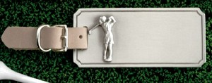 Ladies Golf Bag Tag