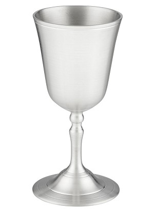 Pewter Water Goblet