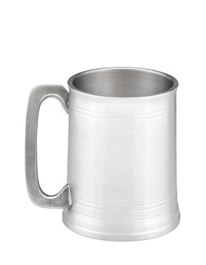 Left-Handed Angle-Handled Tankard/Beer Mug  or Stein