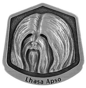Lhasa Apso magnet - Front