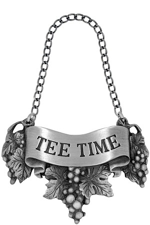 Tee time Liquor Label with Chain