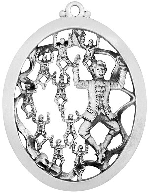 Ten Lords A Leaping Christmas Ornament