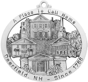 Town of Deerfield - 250th Anniversary Ornament